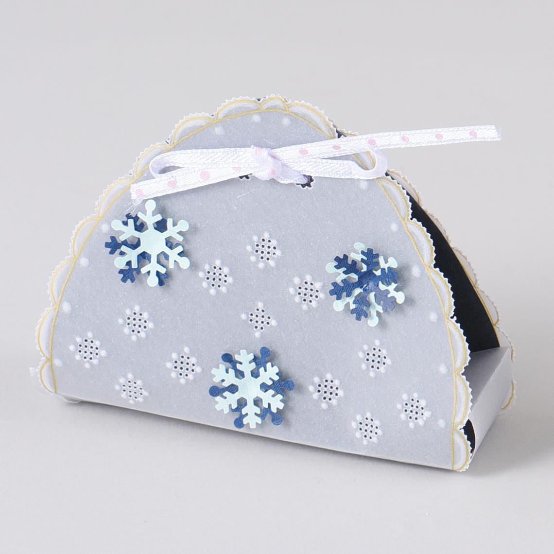 雪の結晶バッグ