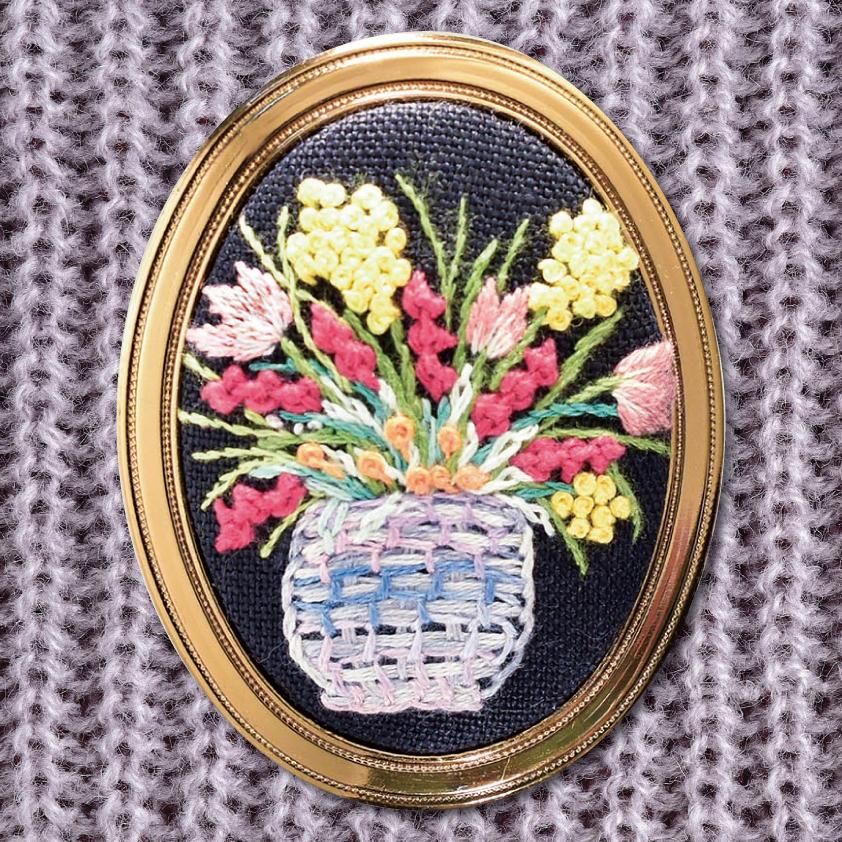 宮川裕子の刺繍