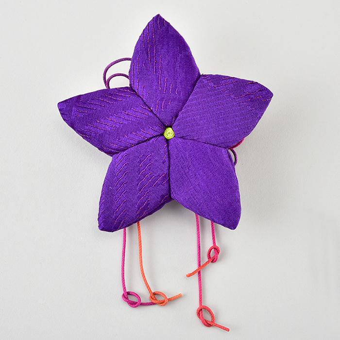 桔梗の花袋