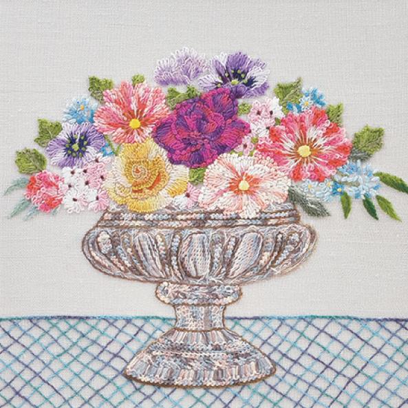 三村君江の美しい刺繍