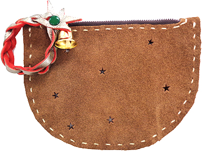 《クリスマス講習》革で作る星のポーチ