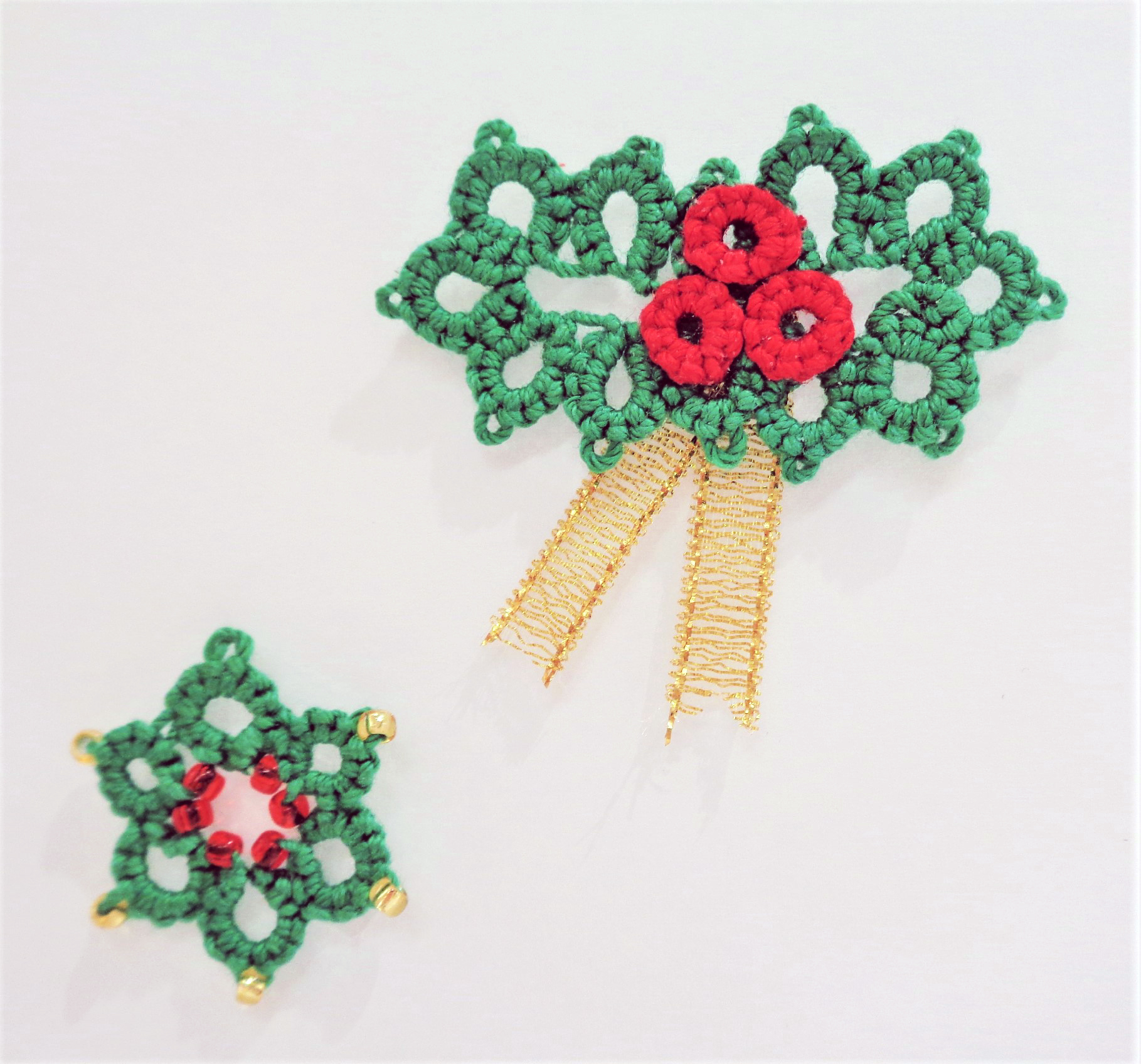 《クリスマス講習》クリスマスリースのペンダントヘッド